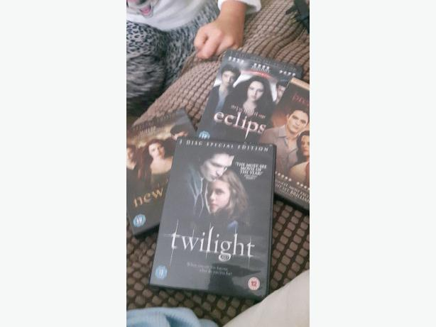 twilight saga dvds