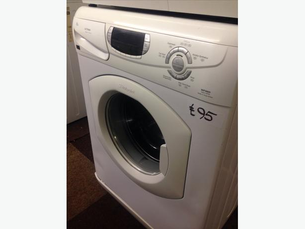 HOTPOINT LCD DISPLAY 6KG SUPER SILENT WASHING MACHINE