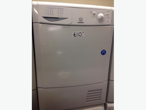 INDESIT CONDENSER 8KG DRYER