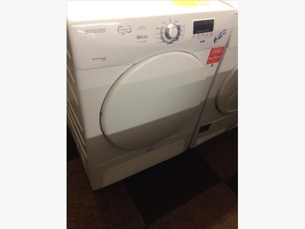 HOOVER 9KG CONDENSER DRYER