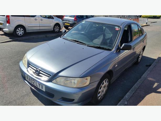 2002 HONDA ACCORD 1.8 PETROL MOT APRIL DRIVES WOTHOUT FAULT £480 NO OFFERS