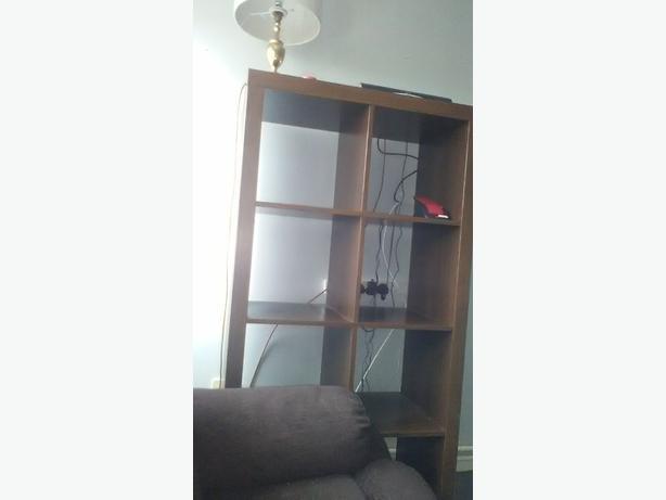 wooden shelfs