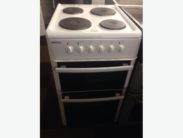 BEKO 50CM PLATED TOP ELECTRIC COOKER