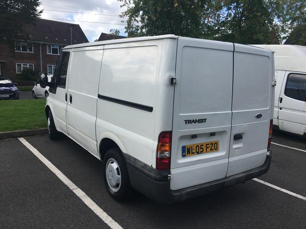 2005 ford transit van swb 12 months mot drives like new. Black Bedroom Furniture Sets. Home Design Ideas