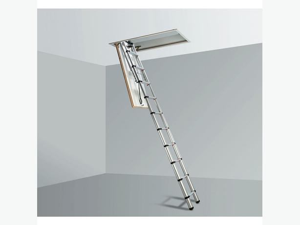 Telesteps Telescopic Loft Ladder Aluminium 10 Tread 2 52