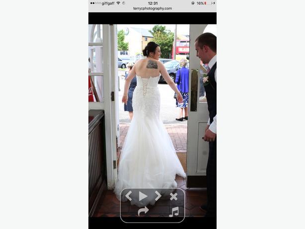 David tutera 114282 mon cheri wedding dress
