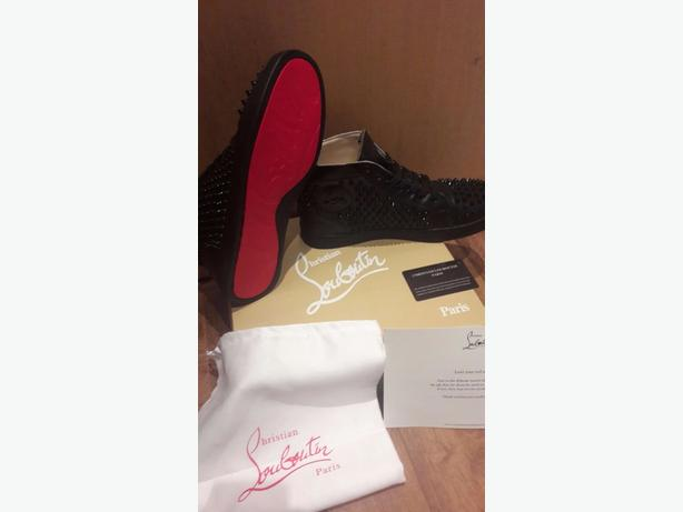 Christian Louboutins Black Spiked Not Moncler Not Gucci