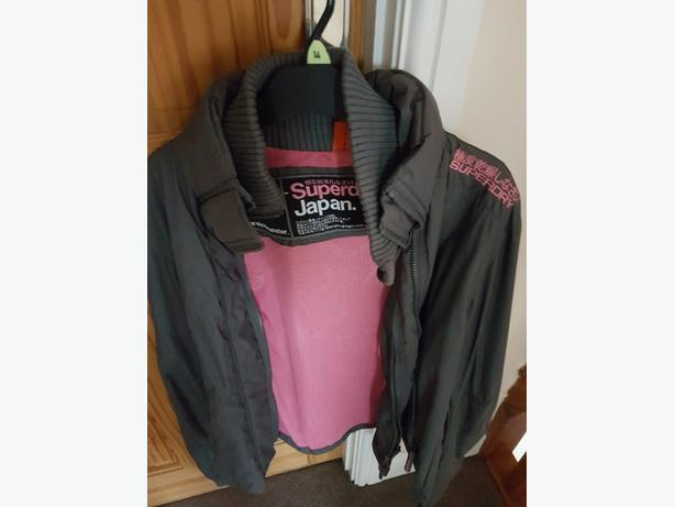 brand new original superdry jacket in grey