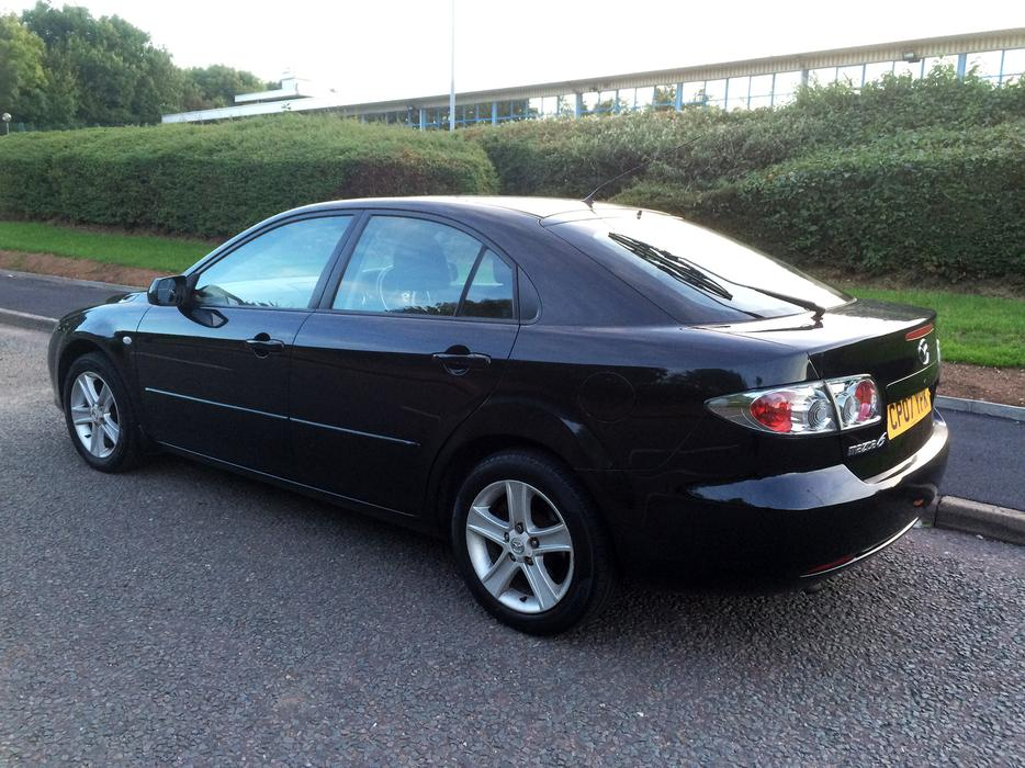 mazda 6 2 0 ts 147 mot april 2017 in good condition drives very well high spec outside black. Black Bedroom Furniture Sets. Home Design Ideas
