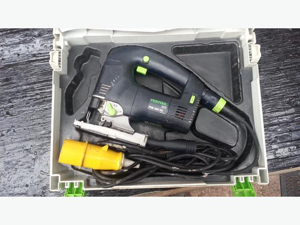 Festool TRION PS 300 EQ-Plus GB 110V Jigsaw in Systainer
