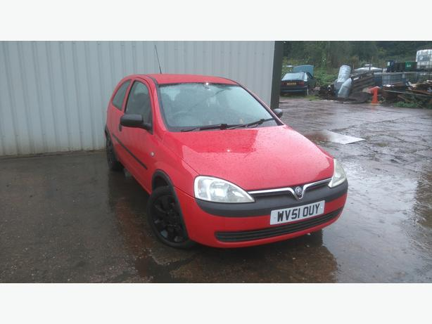 vauxhall corsa c 1.2 took as px