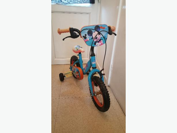 Kids Mickey mouse clubhouse bike