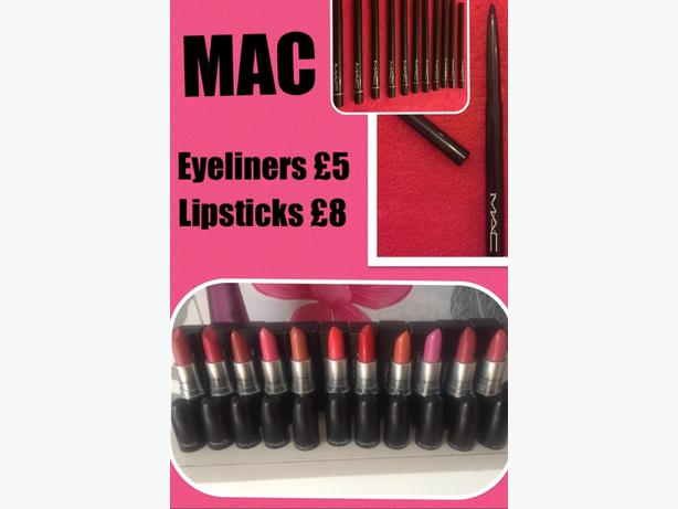 Mac Lipsticks & Eyeliners