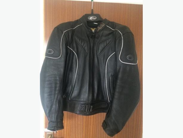 mens Buffalo leather jacket size 46