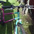 2 x ladys mountain bikes