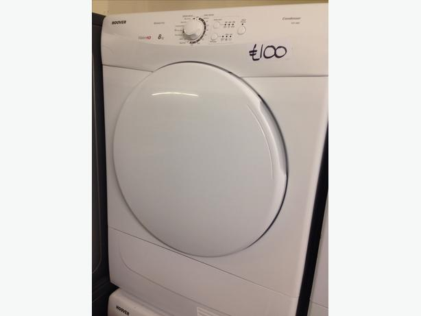 HOOVER 8KG CONDENSER DRYER0