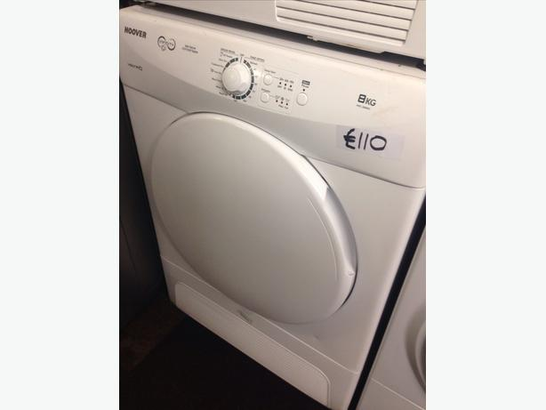 8KG HOOVER CONDENSER DRYER2