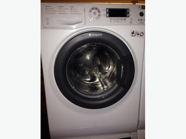 HOTPOINT 8KG WASHING MACHINE10