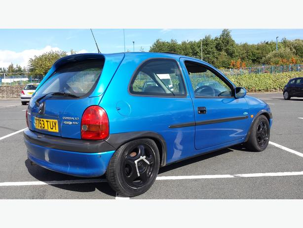 mint corsa b look swap ???