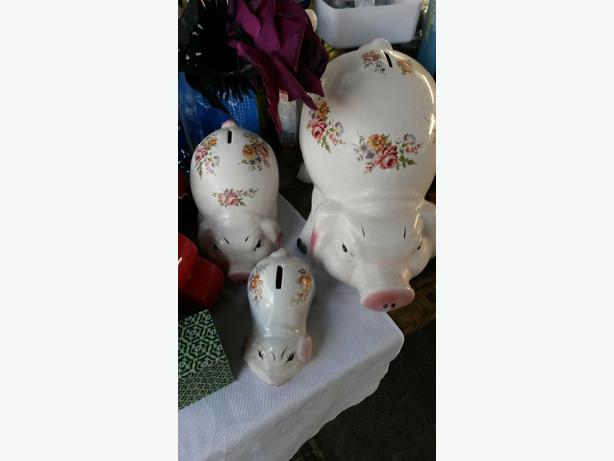 Ceramic Pig Money Boxes