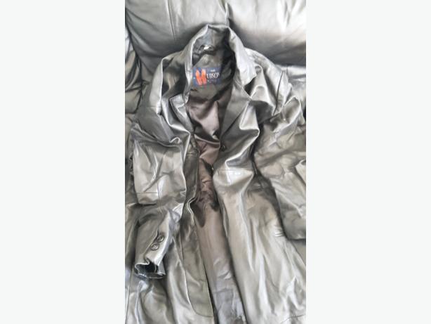hudson leather coat