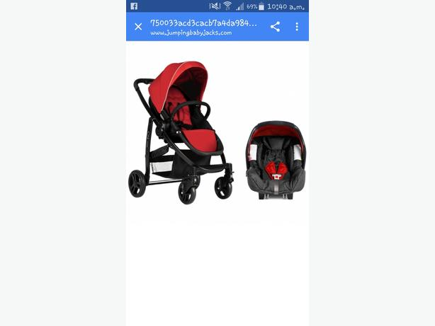 graco evo chili pushchair and car seat