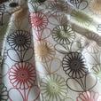 modern flower design curtains 90x90