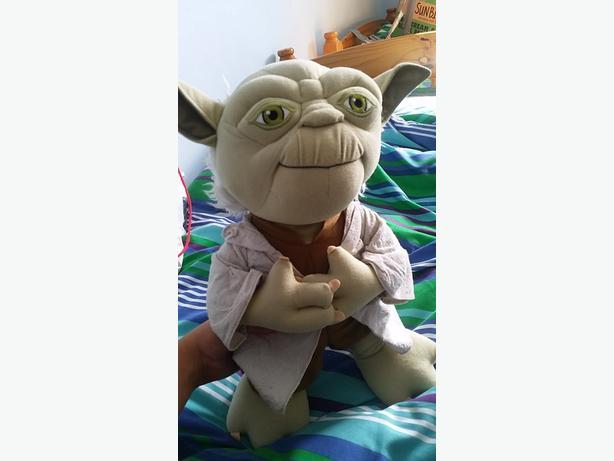 large talking yoda teddy