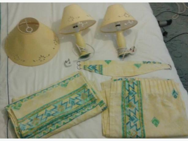 Bundle of lemon bed accessories