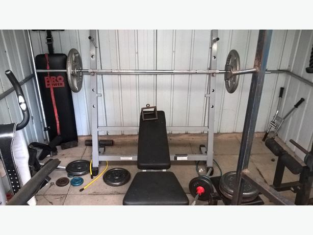 FREE: weight bench