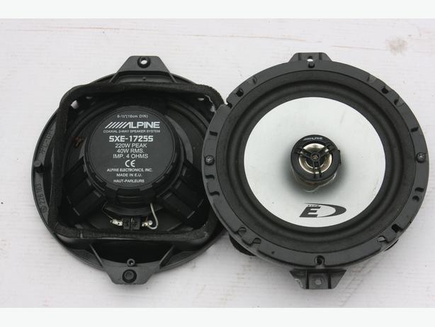 Alpine SXE-1725S 16,5cm 16cm 2-way Coax System also Audi tt Seat
