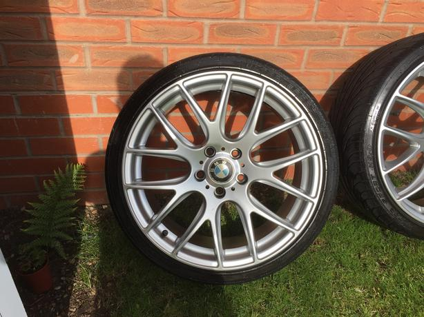 BMW Alloy wheels with tyres 19""