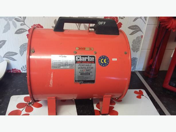 clarke ventilator