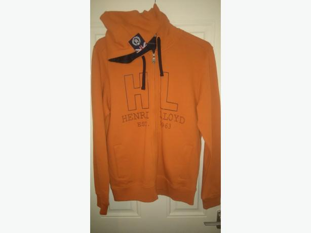 genuine Henri lloyd hoody brand new with tags