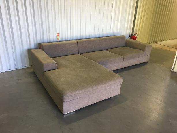 DWELL corner sofa - excellent condition - 4months old // free delivery