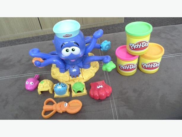### play doh octopus set