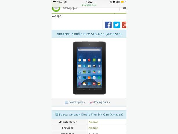 Kindle Fire HD 6 8G works mint bargsin!!