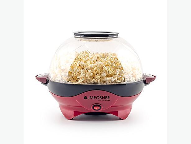 Halogen Popcorn Maker & 10 Bags Of Popcorn Kernels