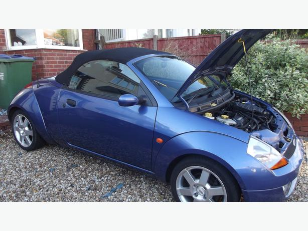 ford streetka convertible 1.6