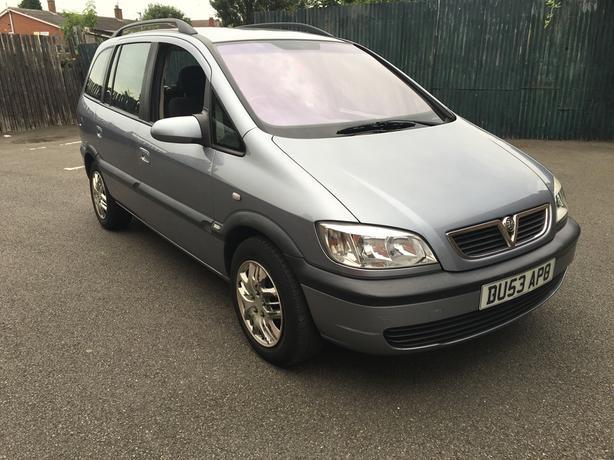 Automatic Vauxhall Zafira 2.0 Diesal, 7 seater, long mot very good condition