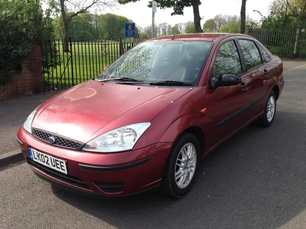 Ford focus 1.6 Automatic, 4 door saloon, big boot ,long mot drives great