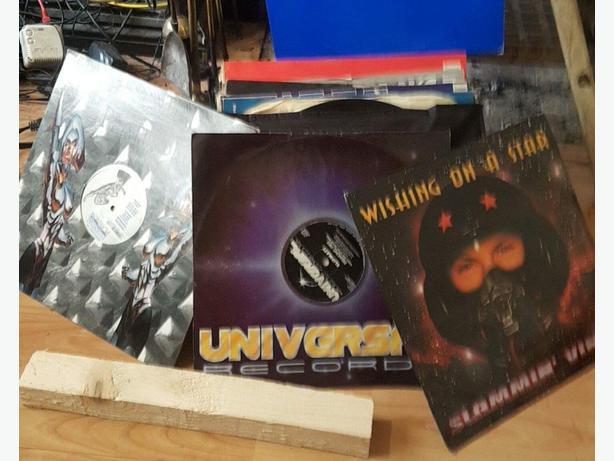 50+ vinyl happy hardcore records