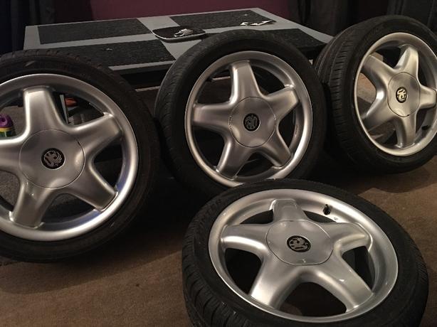 Genuine speedline alessio alloy wheels corsa nova astra gsi gte