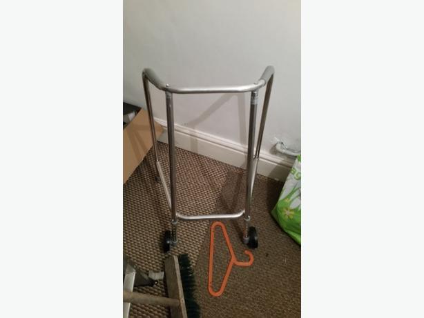 Ultra Narrow Wheeled Walking Frame