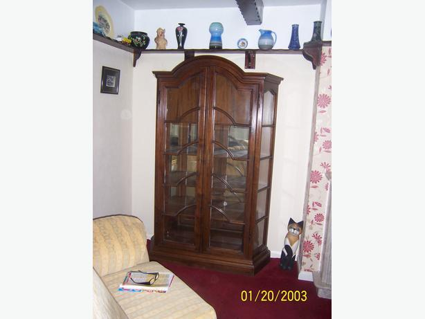 large old display cabinet