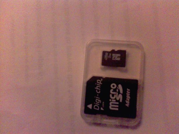 micro sd card 32gb & adapter