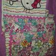 double hello kitty bedset