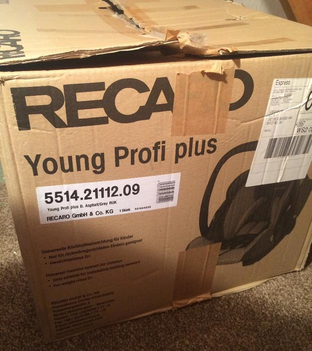 Recaro Young Profi Plus Anleitung: Recaro Young Profi Plus Car Seat & Isofix Base Other Black