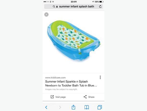 summer sparkle & splash bath