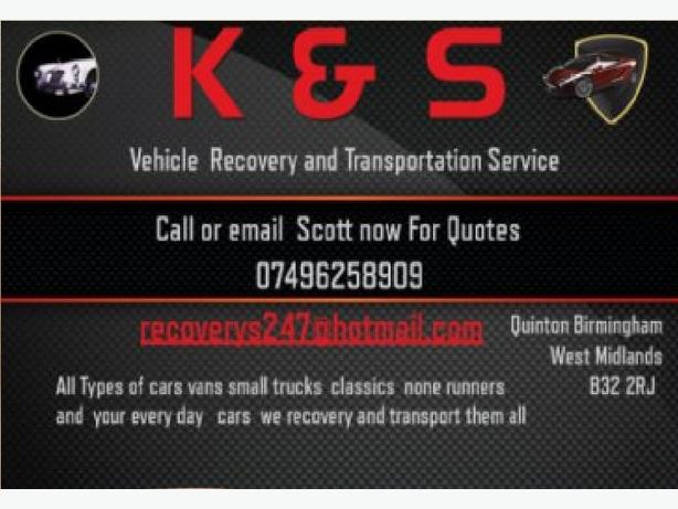 K & S RECOVERY AND VEHICLE TRANSPORTING SERVICE